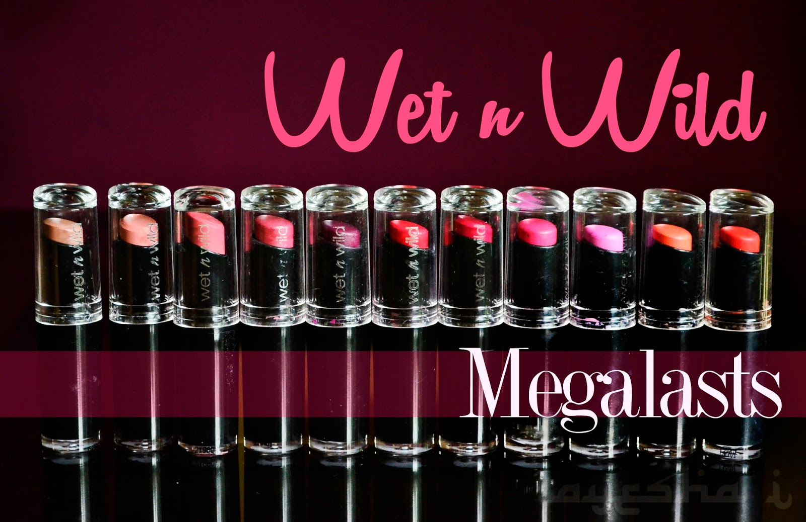 Ayesha Talks Beauty Swatched Wet N Wild Lipstick