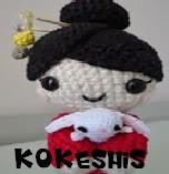 http://patronesamigurumis.blogspot.com.es/2013/12/patrones-kokeshis-amigurumis.html