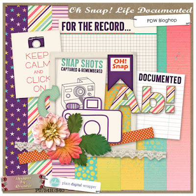 Happy (i)NSD!PDW Bloghop: Oh Snap! Life Documented