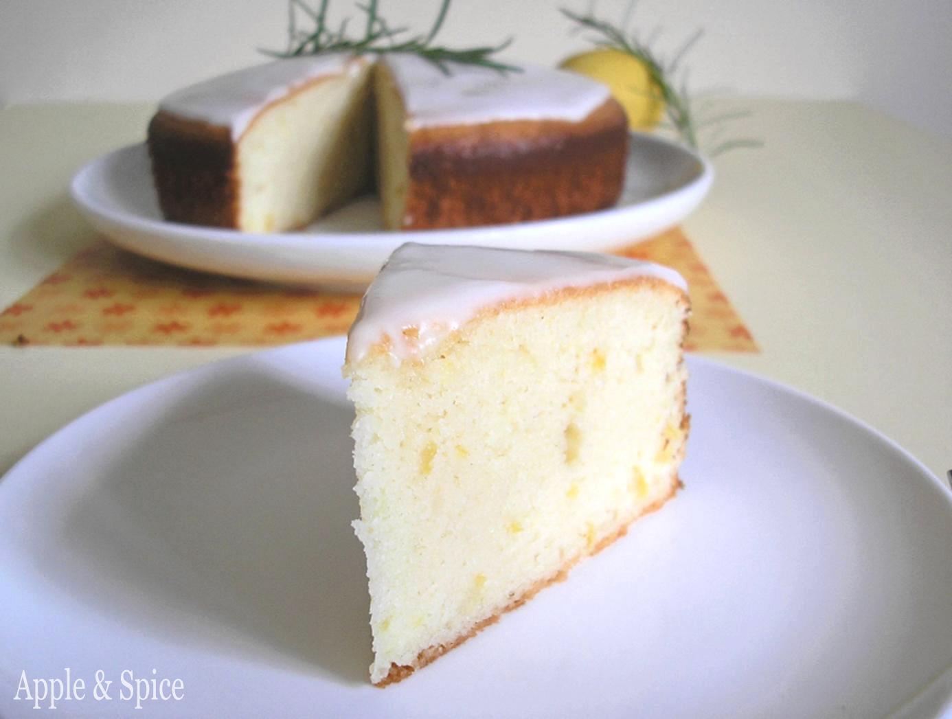 Lemon Almond Cake No Flour No Dairy