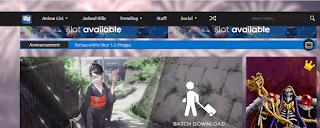 Situs Download dan streaming Anime Subtitle Indonesia Terbaik