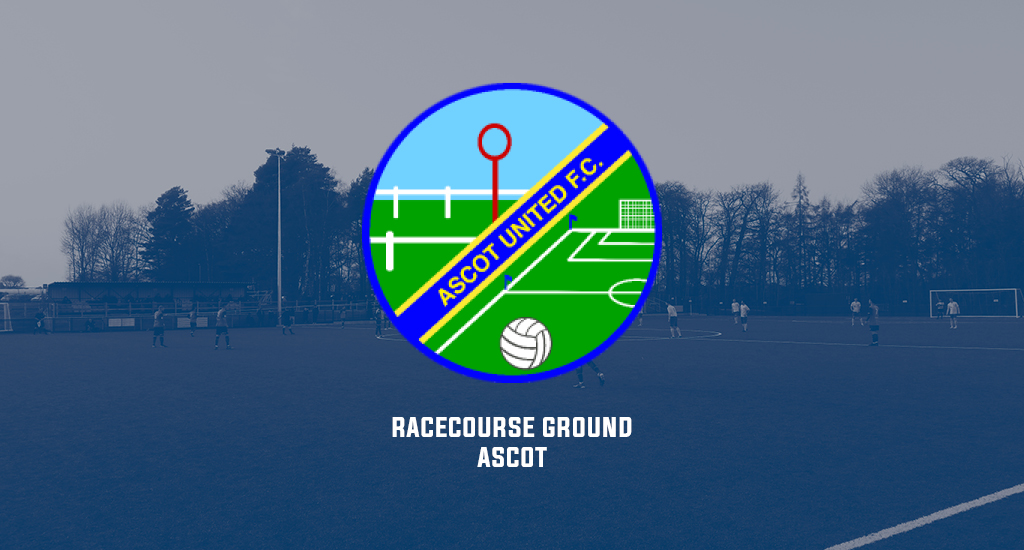 Racecourse Ground and Ascot United logo