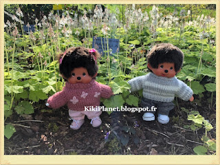 kiki, monchhichi, jardins suspendus, normandie, square, parc