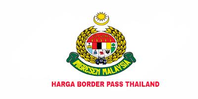 Harga Border Pass Thailand 2018