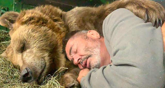 Осиротевшие медвежата попадают в надежные руки! Супруги посвятили свою жизнь спасению медвежат!