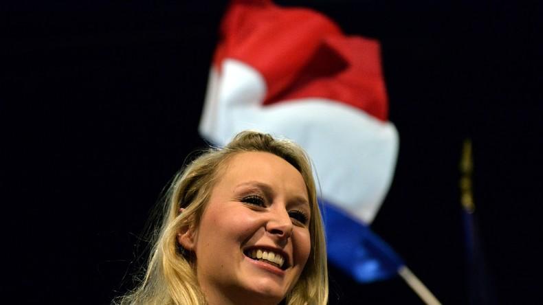 La députée du Front National, Marion-Maréchal Le Pen, le 20 janvier 2017