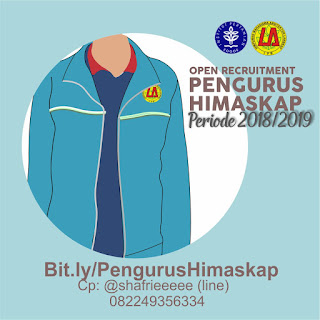 [OPEN RECRUITMENT PENGURUS HIMASKAP PERIODE 2018/2019]