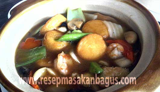 Resep Sapo Tahu Seafood Oriental Resep Masakan Bagus