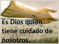 Jesús consuela al afligido.