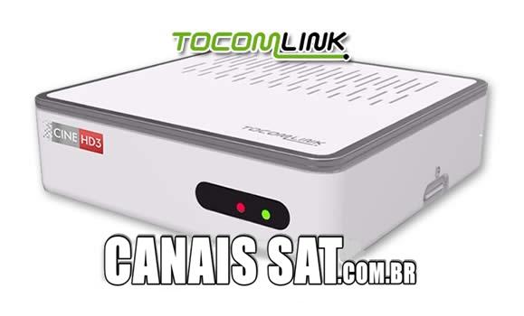 Tocomlink Cine HD 3 Atualização DRMCAM V2.008 - 28/12/2020