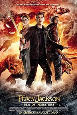Percy Jackson Sea Of Monsters 2013 Dual Audio Hindi 720p BluRay 900mb