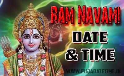 Ram Navami Date & Time