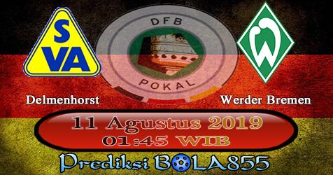 Prediksi Bola855 Delmenhorst vs Werder Bremen 11 Agustus 2019