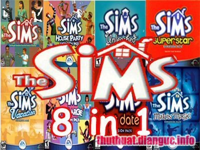 Download Game The Sims 8 IN 1 Full Crack
