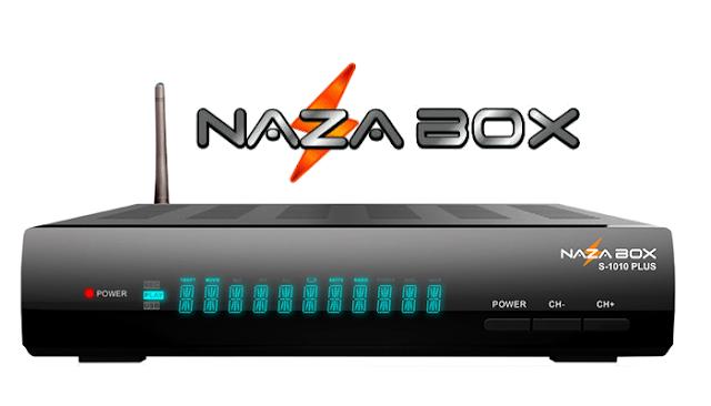 Nazabox S1010 Plus Atualização V2.80 - 01/06/2021