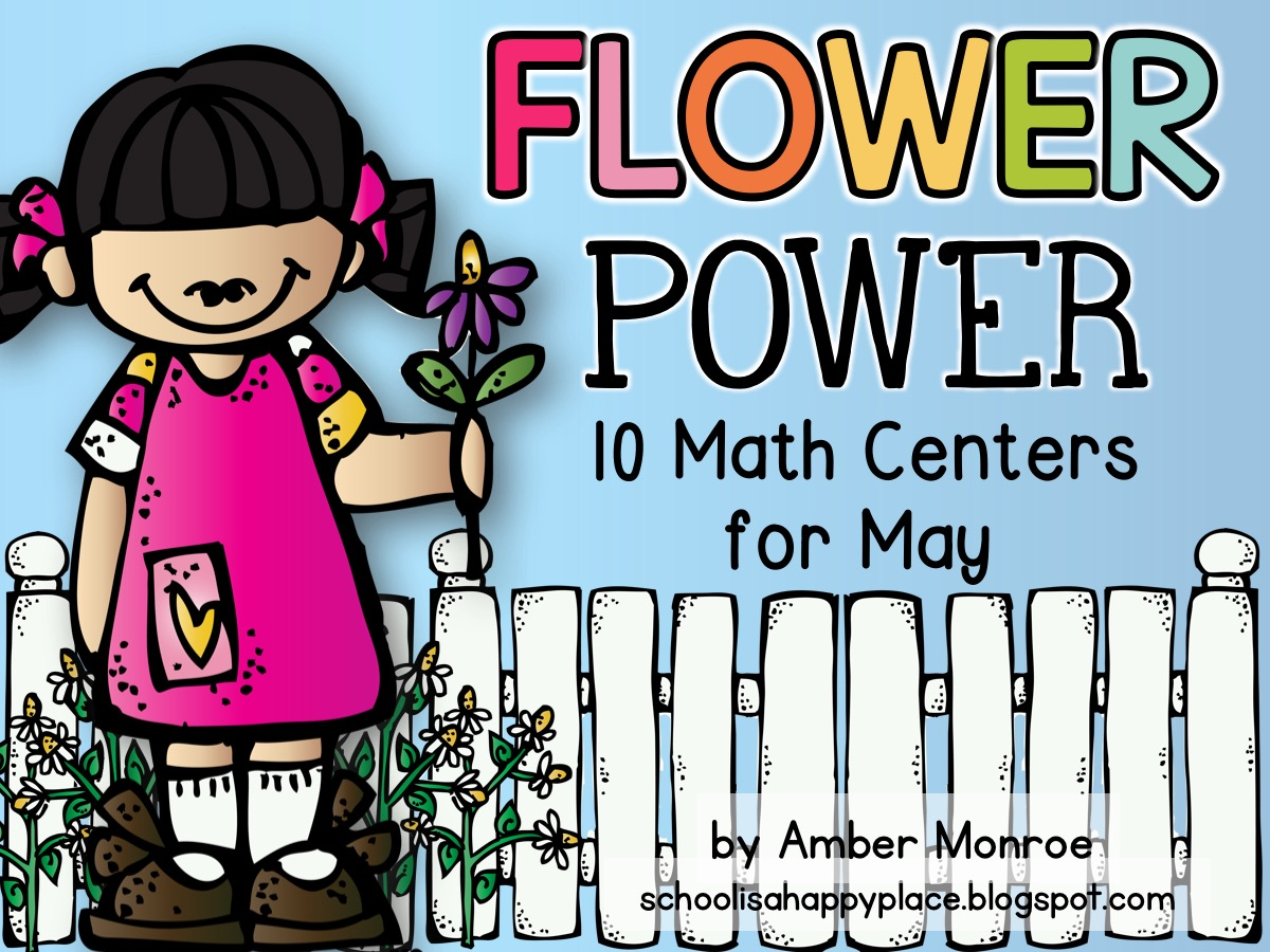 Math Centers for May