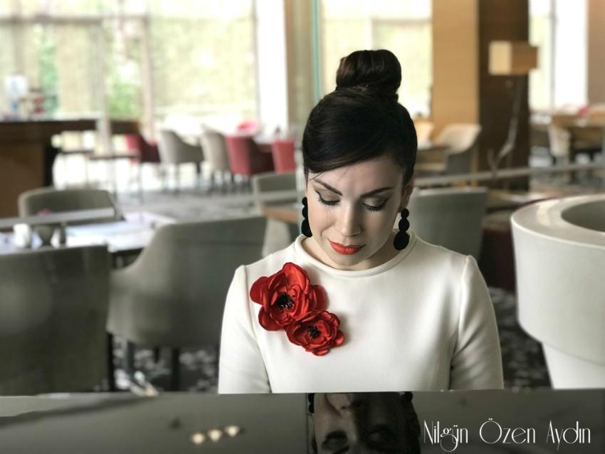 Volanlı Kollu Elbise Dikimi-dikiş blogu-moda blogu-dikiş-diktiklerim-elbiseler-gül broş
