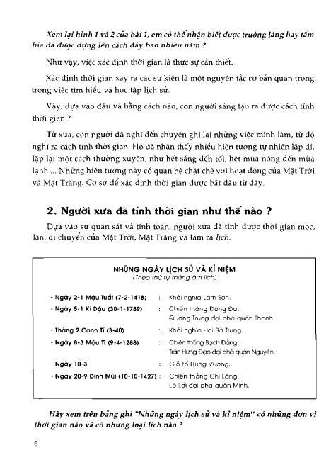 Trang 7 sach Sách Giáo Khoa Lịch Sử Lớp 6