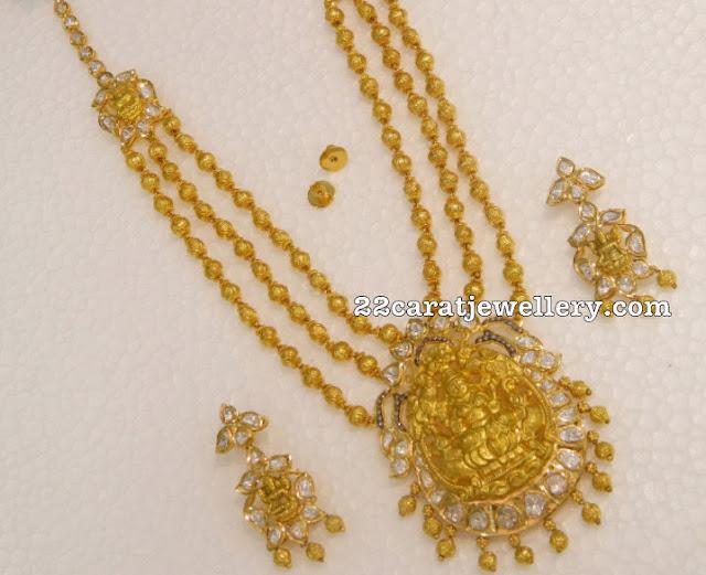 Nakshi Balls Long Sets with Earrings