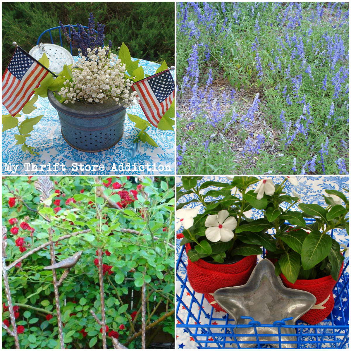 repurposed patriotic garden projects
