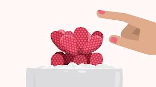 Dasar-dasar desain grafis tekstur atau texture cactus vector