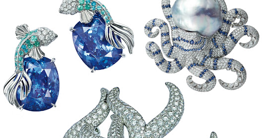 The Well-Appointed Catwalk: Tiffany 2016 Blue Book Collection: The Art of Transformation