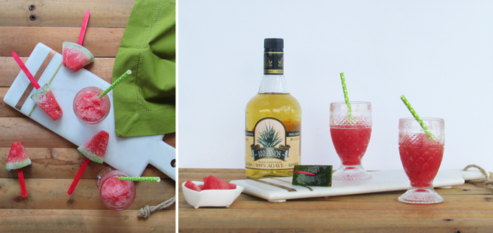 Valentina Vaguada: drink, slushy, watermelon, sandia, tequila, happy hour, summer, hot