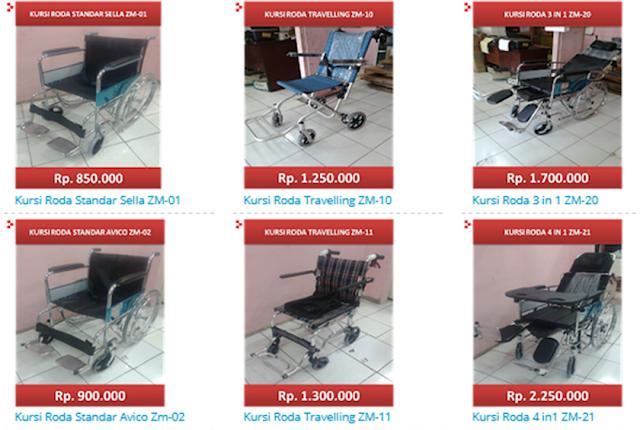 kursi roda murah di solo