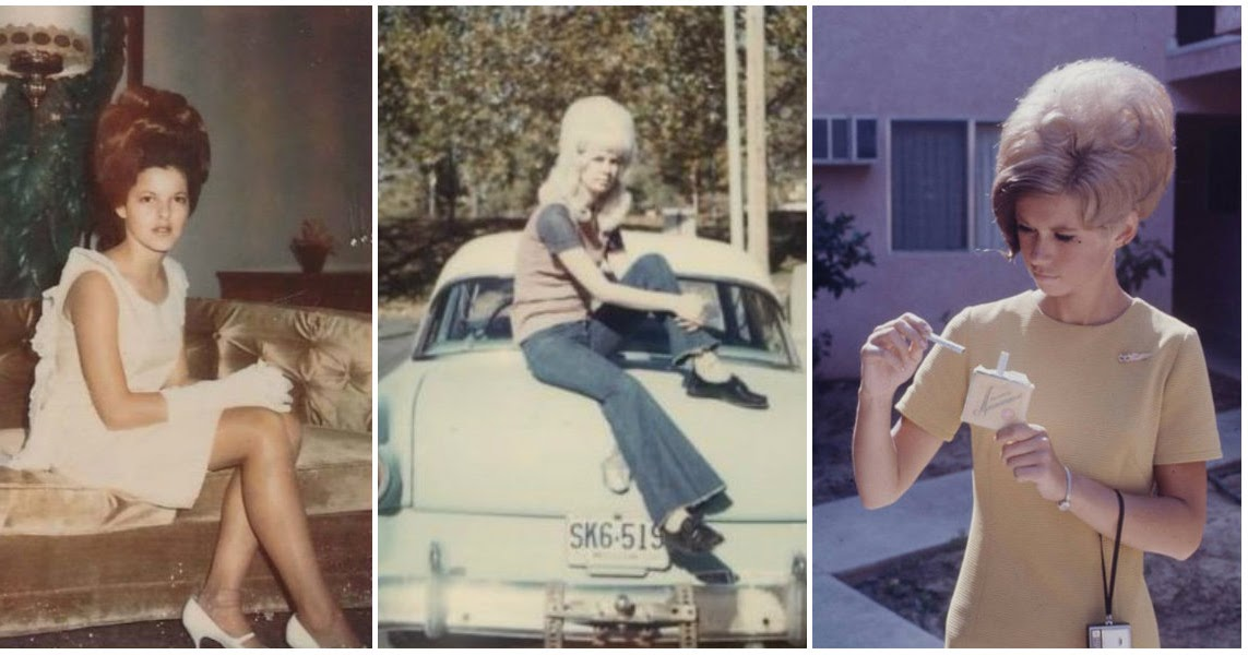 35 Interesting Vintage Snapshots of 1960s Women With Bouffant Hairstyle  vintage everyday