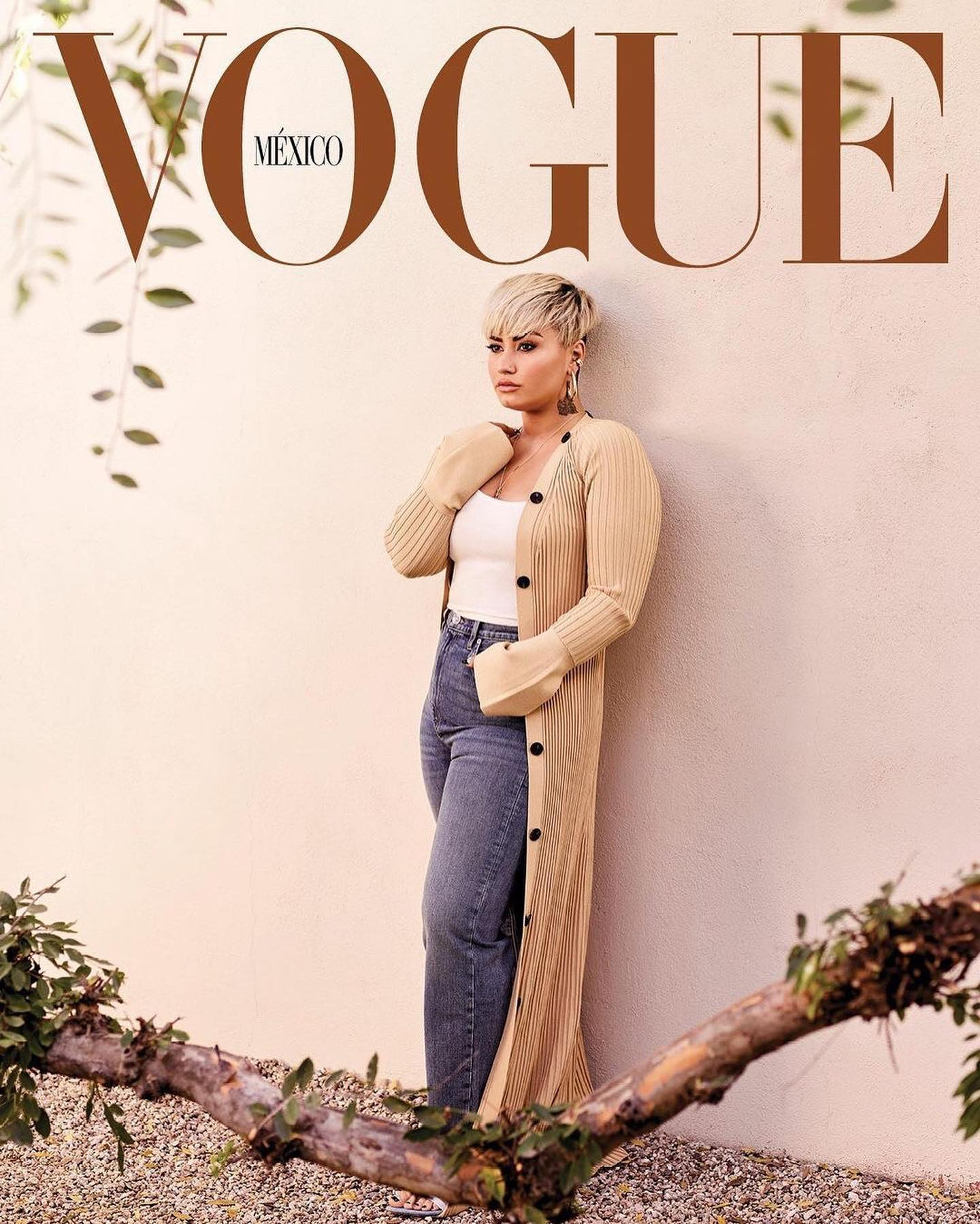 Demi Lovato stars on the Vogue Mexico April 2021 covers