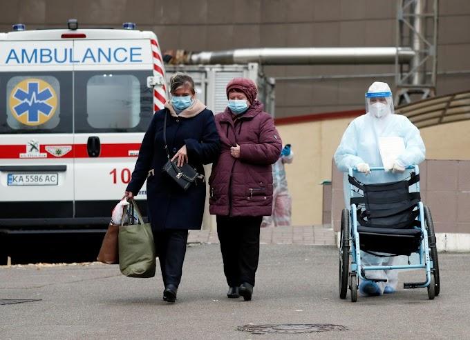 Ukrajnában tovább lassult a fertőzés terjedése