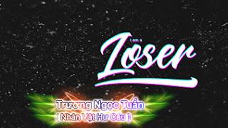 PSD ảnh bìa facebook - I am a Loser