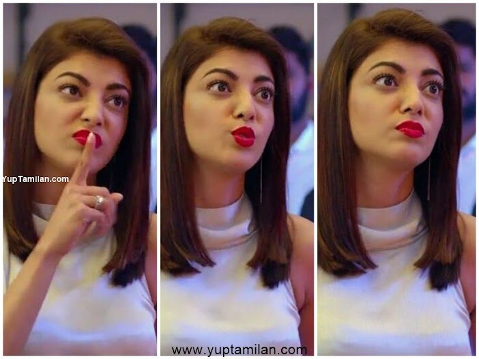 Kajal Aggarwal's Tempting Expression Images will almost turn your Emotions
