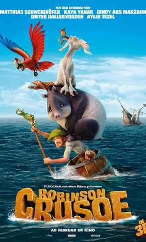As Aventuras de Robinson Crusoé – HD 720p