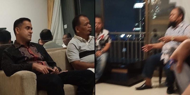 Beredar Foto Nazaruddin dan Jhoni Allen Saat Merancang Kudeta