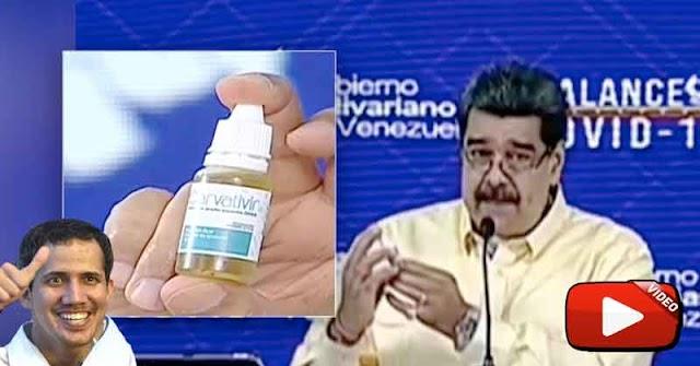 Maduro se arrechó por que se burlaron de sus gotitas milagrosas