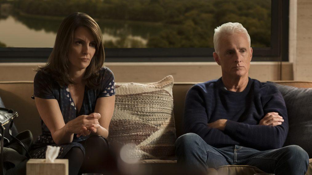 Tina Fey y John Slattery en 'Modern Love'