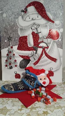weihnachtliche Dekoration, nikolaus, schokolade
