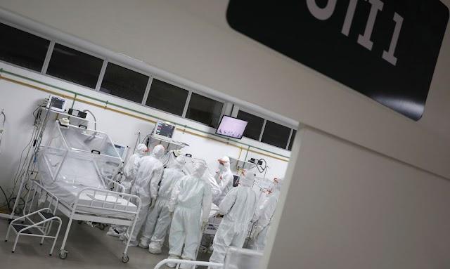 Ocupação de UTIs tem risco baixo em 17 estados e crítico no Rio e GO