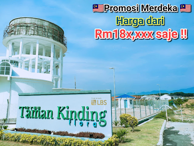 Contoh Iklan Rumah murah bawah harga RM200K di Taman Kidding Flora