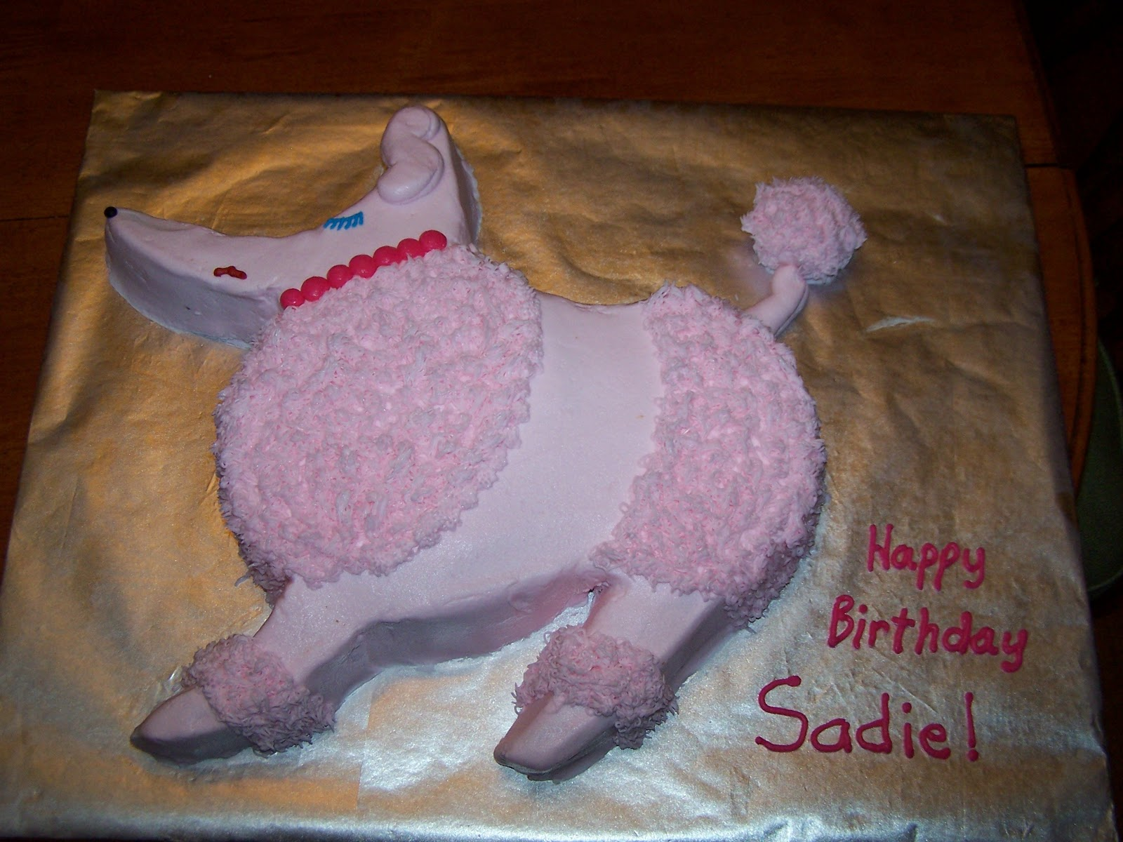 Decorating Tips Tricks And Ideas Poodle Cake