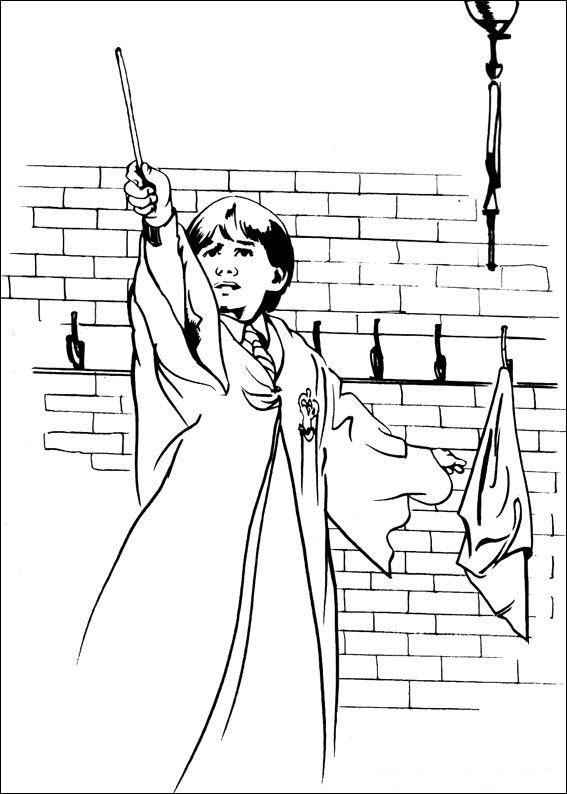 Fun Coloring Pages: Harry Potter Coloring Pages