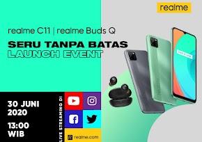 Realme C11 dan Realme Buds Q Segera Meluncur di Indonesia