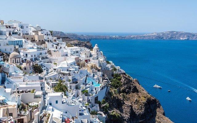 The magic of Santorini Island Greece