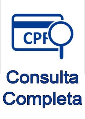 CONSULTA CPF COMPLETA