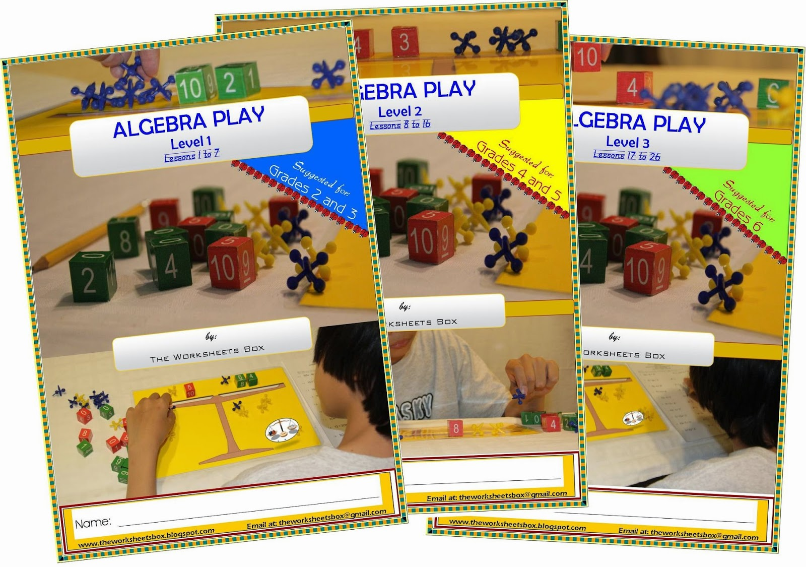 The Worksheets Box Algebra