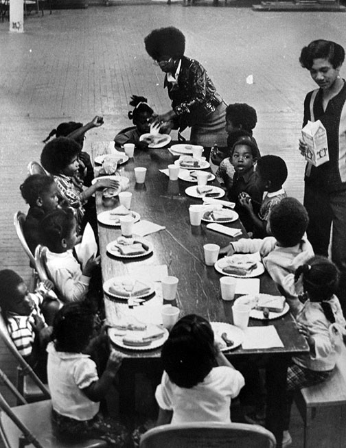 Black Panther Party Community Service 118