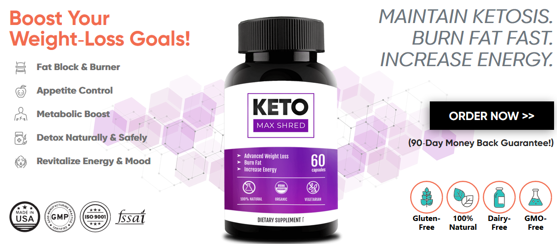 Keto Max Shred, Boost Your Weight‐Loss Goals!