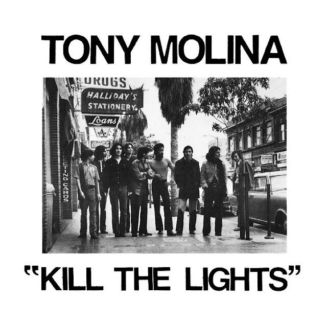 TONY MOLINA - Kill the lights (2018) 1