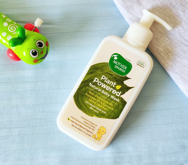 Mothersparsh baby body wash review